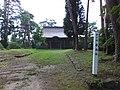 Akita-jinja in Yokote Castle Honmaru ruins 20130816.jpg