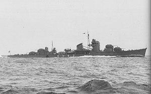 Japanese destroyer Akizuki - Akizuki