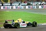 Alain Prost - Williams FW15C at the 1993 British Grand Prix (33557467311).jpg