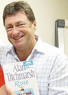 Alan Titchmarsh British television show presenter