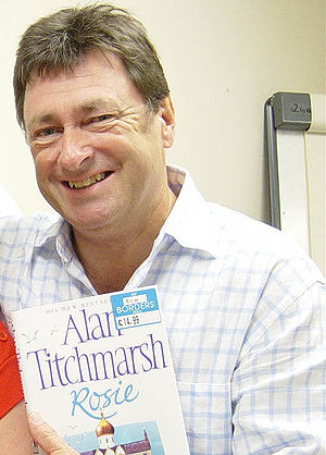 Alan Titchmarsh at a Border's book signing