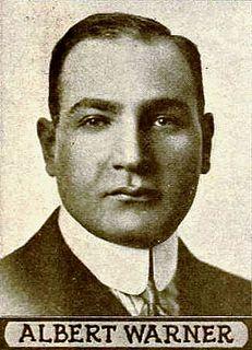 Albert Warner American film executive