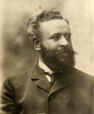 Alberto Franchetti - Alberto Franchetti. Photograph by Giovanni Artico circa 1906.