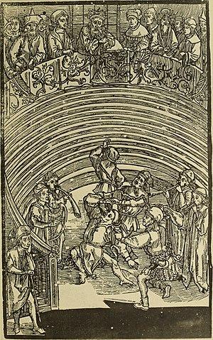Phormio - Phormio, by Albrecht Dürer.