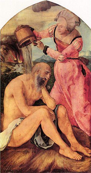 Pensive Christ - Image: Albrecht Dürer 043