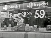 Albrecht storefront in Essen, 1958