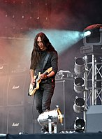 "Alcest, Stéphane ""Neige"" Paut at Party.San Metal Open Air 2013.jpg"