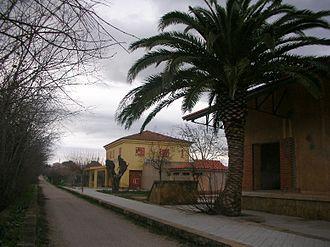 Aldover - Abandoned train station in Aldover