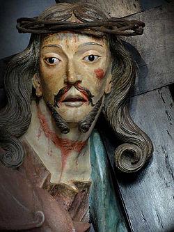 2ae056e5a Aleijadinho  Detalhe do Cristo carregando a cruz