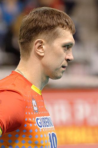 Aleksey Kuleshov - Image: Aleksey Kuleshov 2014 CEV final t 210045