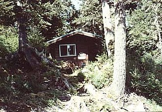 National Register of Historic Places listings in Hoonah–Angoon Census Area, Alaska - Image: Alexander Lake Cabin