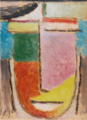 Alexej von Jawlensky - ABSTRAKTER KOPF (ABSTRACT HEAD).PNG