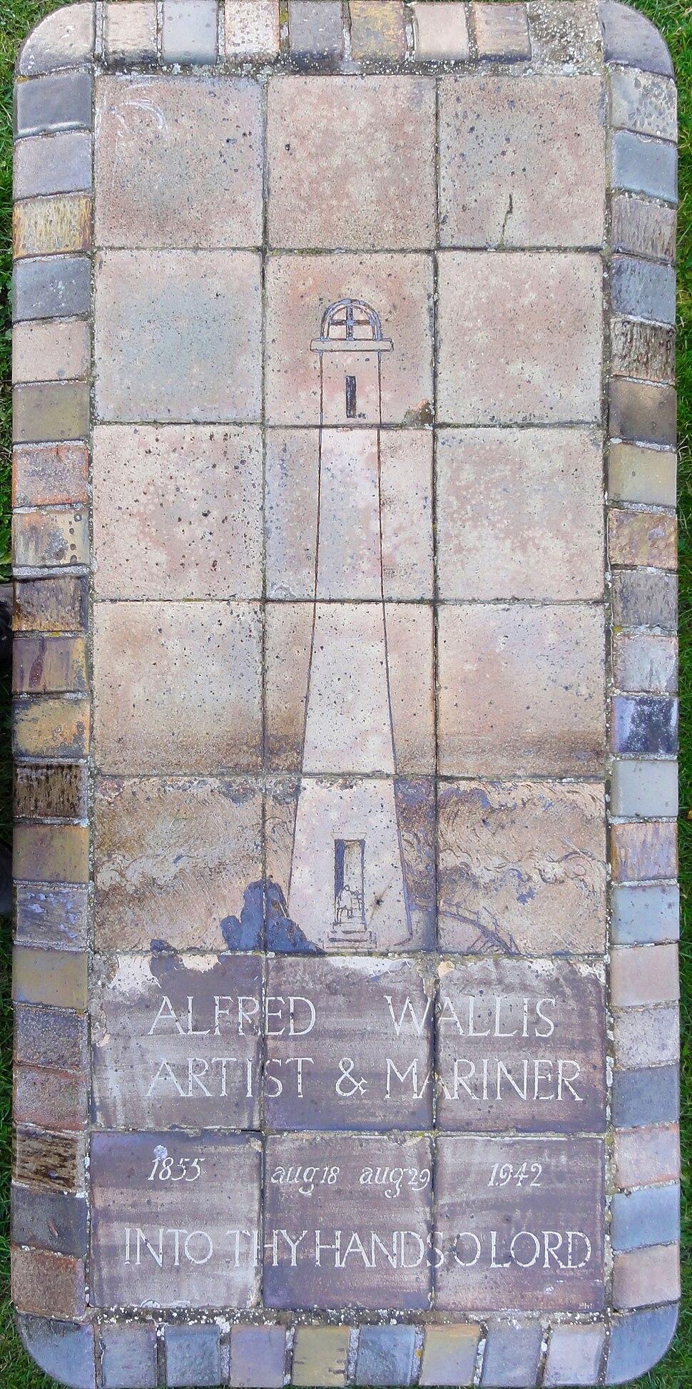 Alfred Wallis tomb