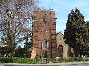 Laleham - Image: All Saints Church geograph.org.uk 160030