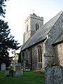 All Saints church - churchyard - geograph.org.uk - 1572165.jpg