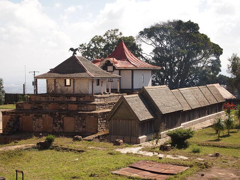 All royal tombs at the Rova of Antananarivo royal palace in Madagascar.JPG