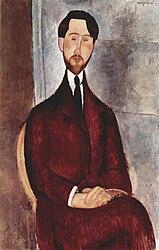 Amedeo Modigliani: Portrait de Léopold Zborowski