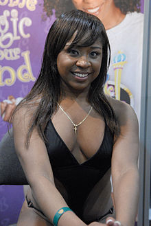 Amile Waters at AVN Adult Entertainment Expo 2008 1.jpg