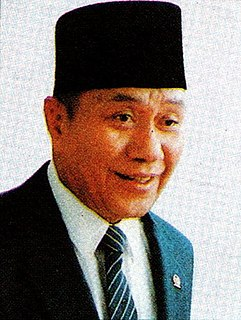 Indonesian politician and general