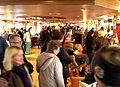 An Bord des Schiffs - Schwimmender Christkindlmarkt in Vilshofen an der Donau.JPG