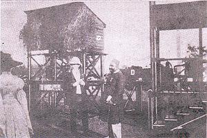 Suhrawardy Udyan - Khwaja Salimullah at Ramna Racecourse (now Suhrawardy Udyan), early 20th century