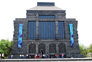 Anahuacalli Museum - Front view