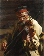 Hins-Anders painted by Anders Zorn, 1904