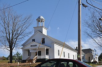 Andover, New Hampshire - Image: Andover NH East Andover Grange Hall