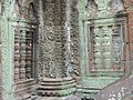 Angkor - Ta Prohm - 021 Column and False Windows (8581955034).jpg