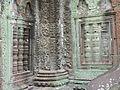 Angkor - Ta Prohm - 021 Column and False Windows (8581955034).jpg