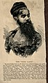Annie Jones-Elliot, a bearded lady. Wood engraving. Wellcome V0007156.jpg
