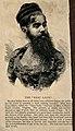 Annie Jones-Elliot, a bearded lady. Wood engraving. Wellcome V0007156.jpg