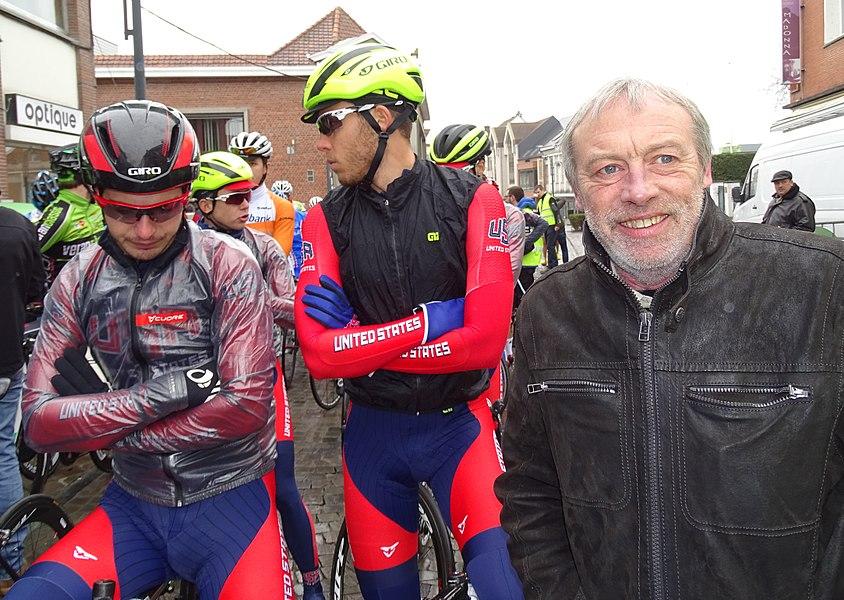 Triptyque des Monts et Châteaux 2015 Depicted person:  Jean-Pierre Delitte Depicted team: Équipe nationale des États-Unis espoirs