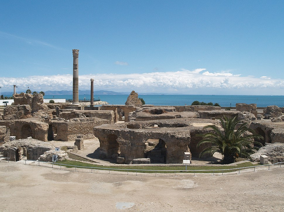Antonine Baths at Carthage