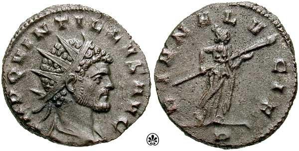 Antoninianus Quintillus-s3243