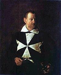 Caravage: Portrait d'Antonio Martelli