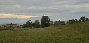Belmont-Luthézieu - Image: Aperçu du village de Belmont