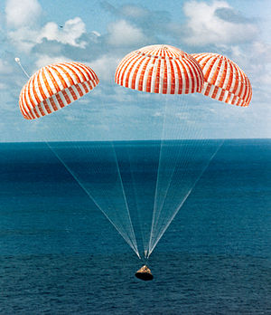 Splashdown - Apollo 14 returns to Earth, 1971