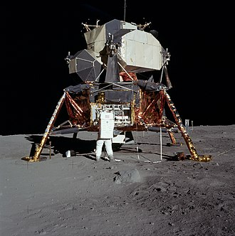 Apollo program - Apollo 11 Lunar Module Eagle on the Moon