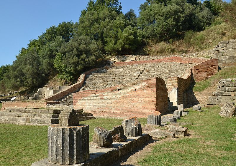 File:Apollonia, Albania (by Pudelek) - Odeon.JPG