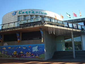 Aquarium Barcelona - building.JPG