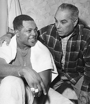 Archie Moore - Archie Moore and Onyx Roach in 1956
