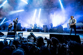 Arctic Monkeys - Image: Arctic Monkeys Orange Stage Roskilde Festival 2014