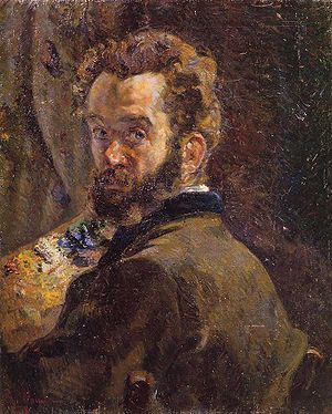 Armand Guillaumin - Self-Portrait, 1878
