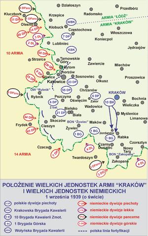 Battle of Pszczyna - Image: Armia krakow 1939