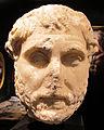 Arte romana, ritratto di filosofo, marmo pario, 100-120 dc, collez. privata 02.JPG