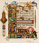 Arthur Szyk (1894-1951). The Haggadah, Dedication to King George VI (1936), Łódź, Poland.jpg
