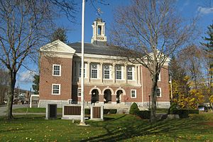 Ashburnham, Massachusetts - Ashburnham Town Hall