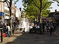 Ashford High Street and fountain - geograph.org.uk - 434967.jpg