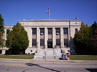 Ashland County, Ohio - Image: Ashland County Ohio Courthouse